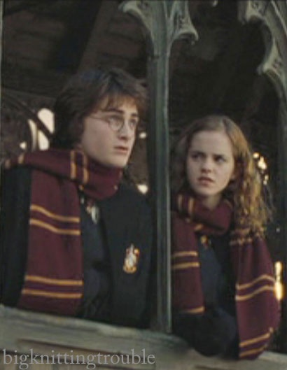 The Hogwarts Scarf pattern