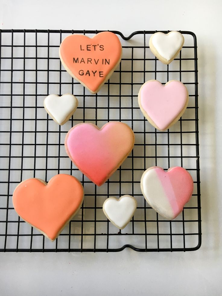 How to use Color Mist (edible spray paint) on royal icing and stamp on sugar cookies