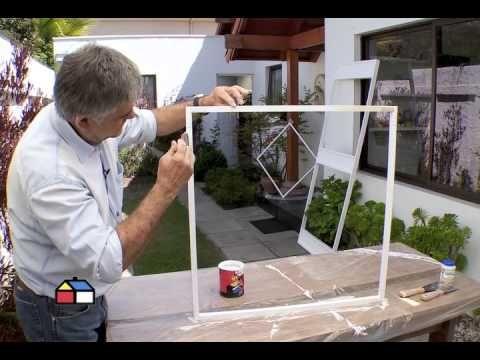 C mo hacer una puerta y ventana con mosquitero ideas for Como hacer mi jardin
