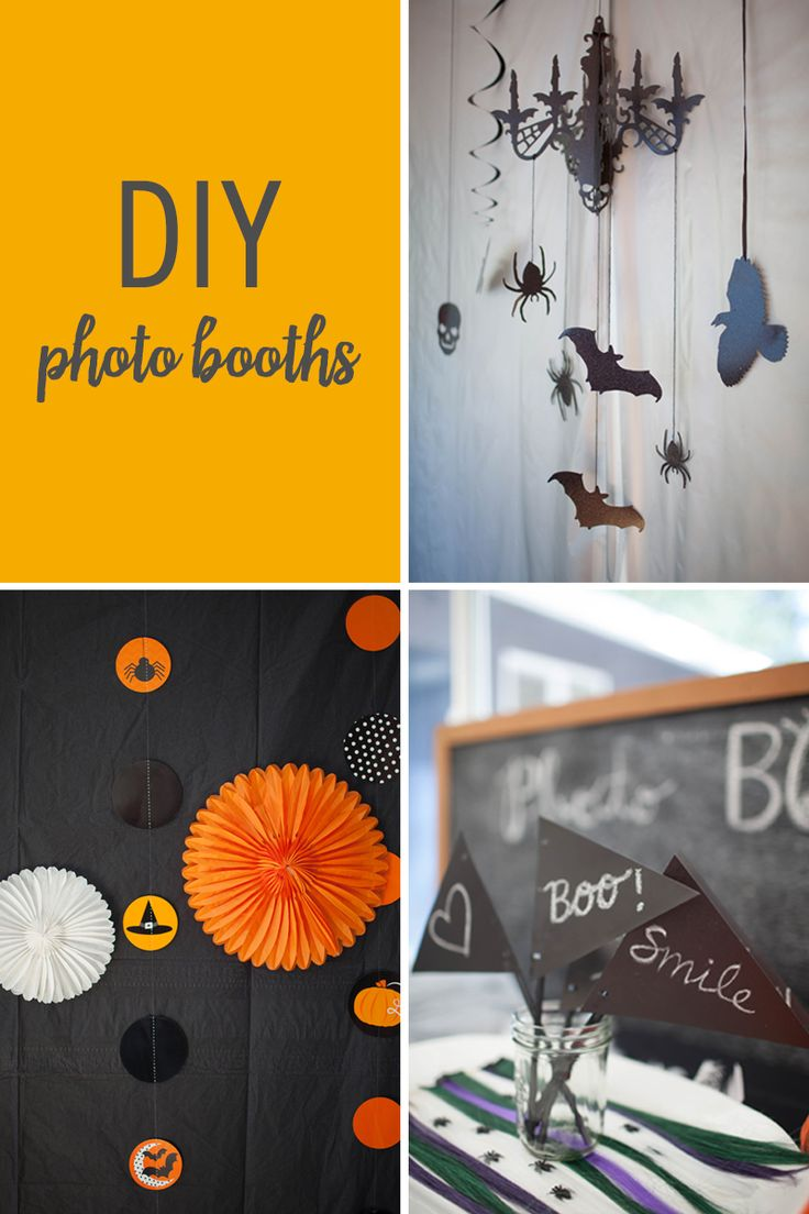 Make Your Own Halloween Photo Booth — for Under $15!