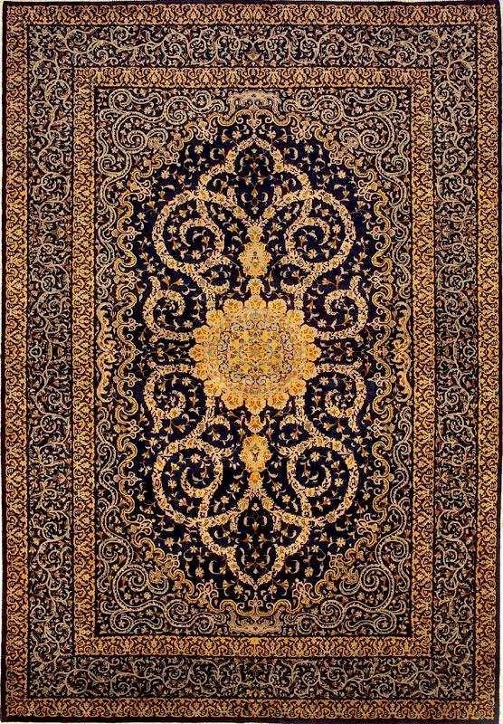 authentic Qum Persian rugs - Google Search