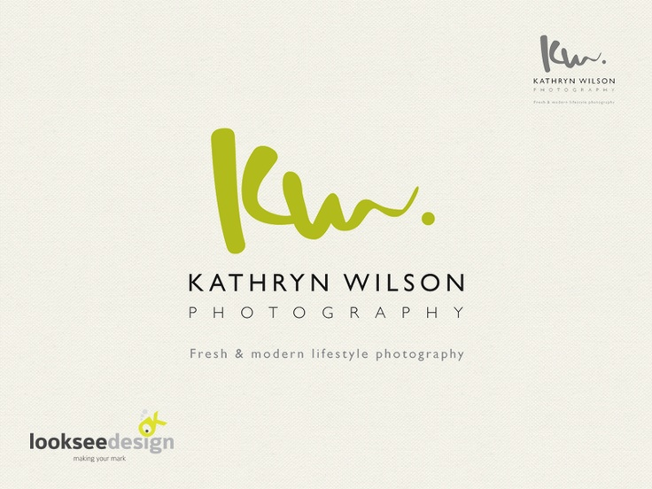 Kathryn Wilson Photography - Logo Designed by Looksee Design