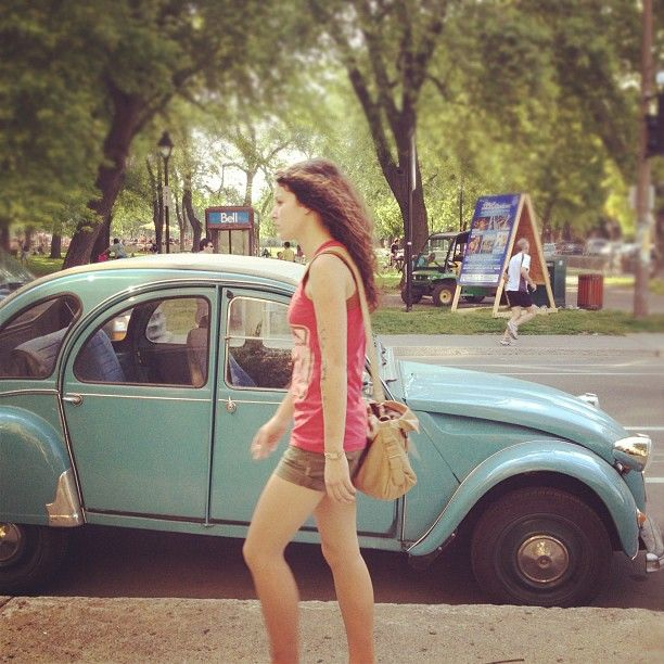 .@Emma Voss | Young girl, old car. | Webstagram - the best Instagram viewer
