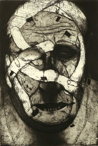 Title: Battlefield Year: 1991 Medium: Etching Image Size: 31 x 21 cms | Paper Size: 69 x 51 cms Edition of 40 Published by Glasgow Print Studio, Artists Ken Currie