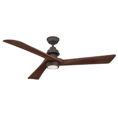 Home Decorators Collection Fortston 60 in. Oil Rubbed Bronze Ceiling Fan-AM175-ORB - The Home Depot