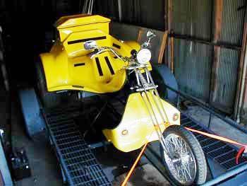 Custom VW Trike Bodies, Fenders, and Accessories-Possum PrideAccessoriespossum Pride