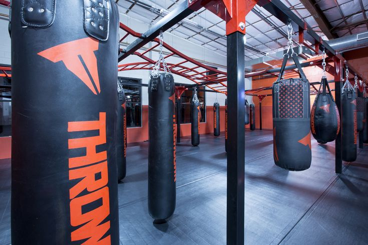 The Punching Bag Room At UFC GYM BJ Penn Photo Courtesy Of NeV