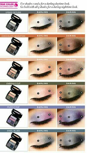 avons true colour quad eyeshadoe, takes you from simple to stunning in four easy steps, only at shop.avon.com.au/store/paularoberts83