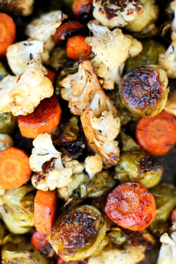 Balsamic Roasted Vegetables Recipe. Tried and LOVED. Adding to regular rotation of veggie side dishes. -Tara