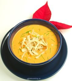 Spicy sweet potato soup - What's cooking Mexico !