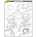 Finding Dory, Dory & Nemo Coloring Page | crayola.com