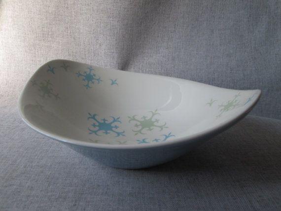 Ben Seibel Iroquois Informal True China Serving Bowl - Thane Pattern