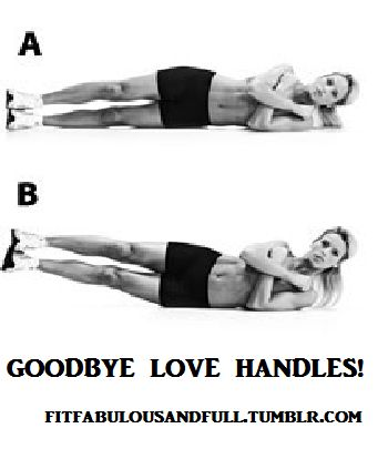 Love handles and works good for inner thigh!