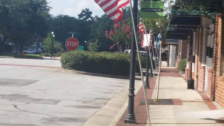 Downtown Hinesville, Georgia