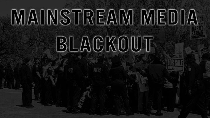 Complete MSM Blackout as Americans Protest Their Fake Presidential Elect...
