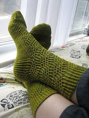 Ravelry: Julia Socks pattern by Emily Johnson