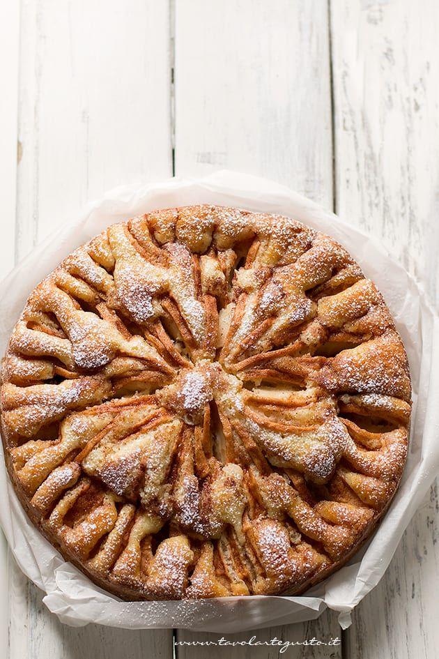 Torta di mele soffice - Ricetta della torta di mele della nonna