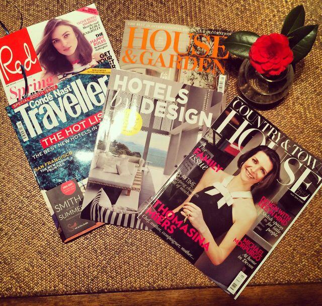 British magazine feature Alavya