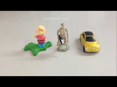 Toys part 4 (2) | Korokoro Snoopy |Charles Brown | Star Wars Galactic He...