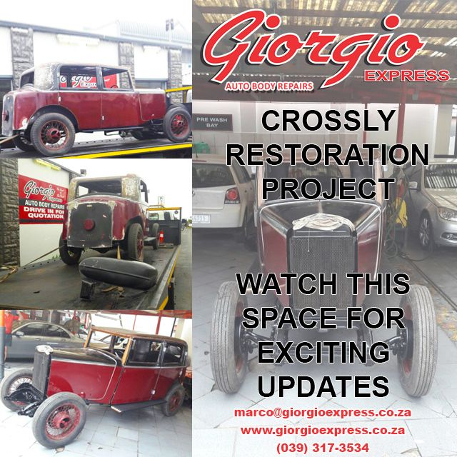 View the progress on our 12 week Crossly #Restoration Project. View more on our website. Link in bio. #CarRestoration #ProjectCar