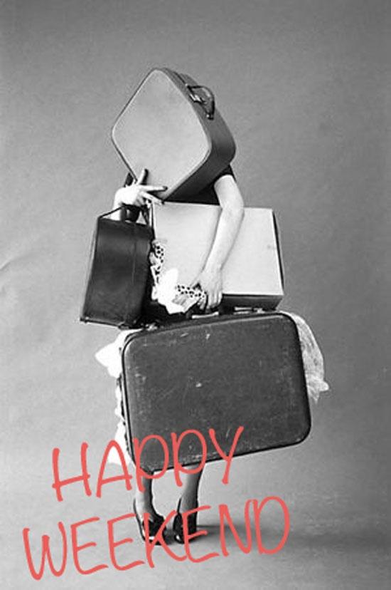 #travel, #suitcases, #weekend