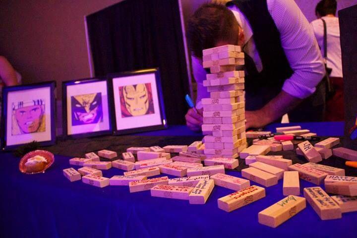 Guest table geek wedding