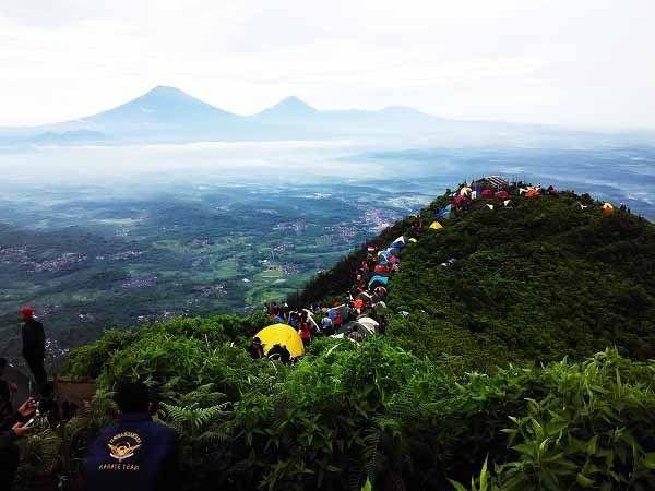 Wisata Gunung Andong Semarang Kota Andong