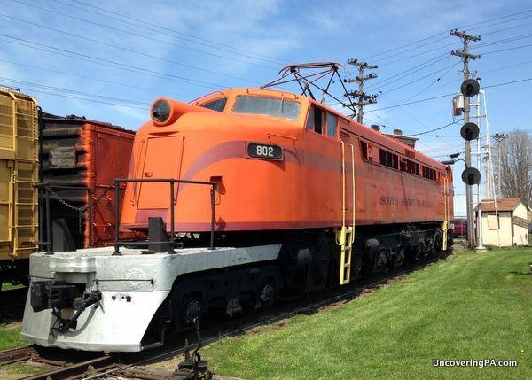 Visiting the Lake Shore Train Museum near Erie: An Amazing Destination for Train Fans - http://uncoveringpa.com/lake-shore-railway-museum  #Pennsylvania #Erie, #LakeErie #trains #museum