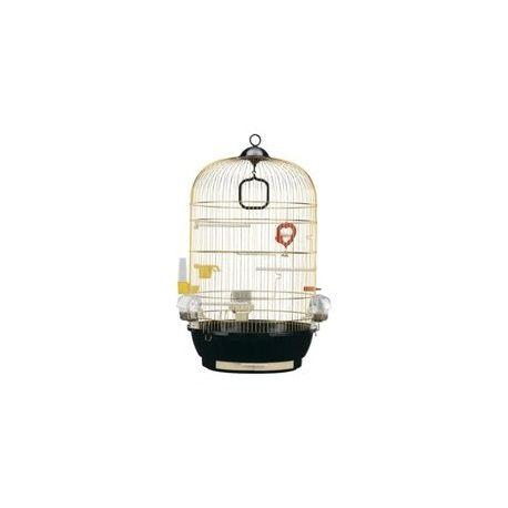 Ferplast cage Diva doré / http://www.animaux-market.com/cage-oiseau-ferplast-247