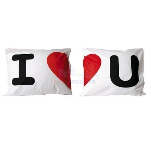I Love You Pillows
