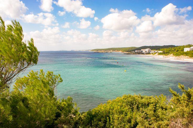 The beach of Sant Tomas - Menorca - SONY DSC