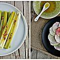 Aujourd'hui ce n'est pas une mais deux recettes rapides, saines et gourmandes. On parle de légumes avec des poireaux vapeur assaisonnés de...