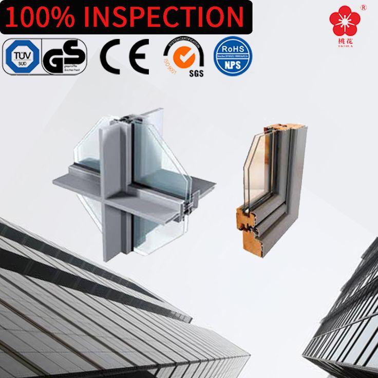 Customized power coating aluminum profile window