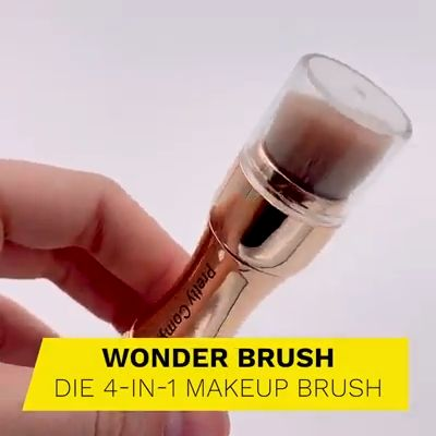 😱😱😱4-in-1 Makeup Brush