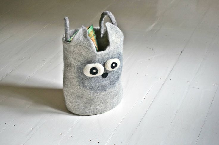 Scandinavian Kids Toys Storage Basket Felt Bin by Felt Interior Design by FeltInteriorDesign on Etsy https://www.etsy.com/listing/539470117/scandinavian-kids-toys-storage-basket