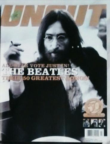 """edição raríssima de Julho/2001 sobre as 50 melhores canções dos Beatles em ordem decrescente, para ler """"saboreando""""; para fãs e colecionadores"""