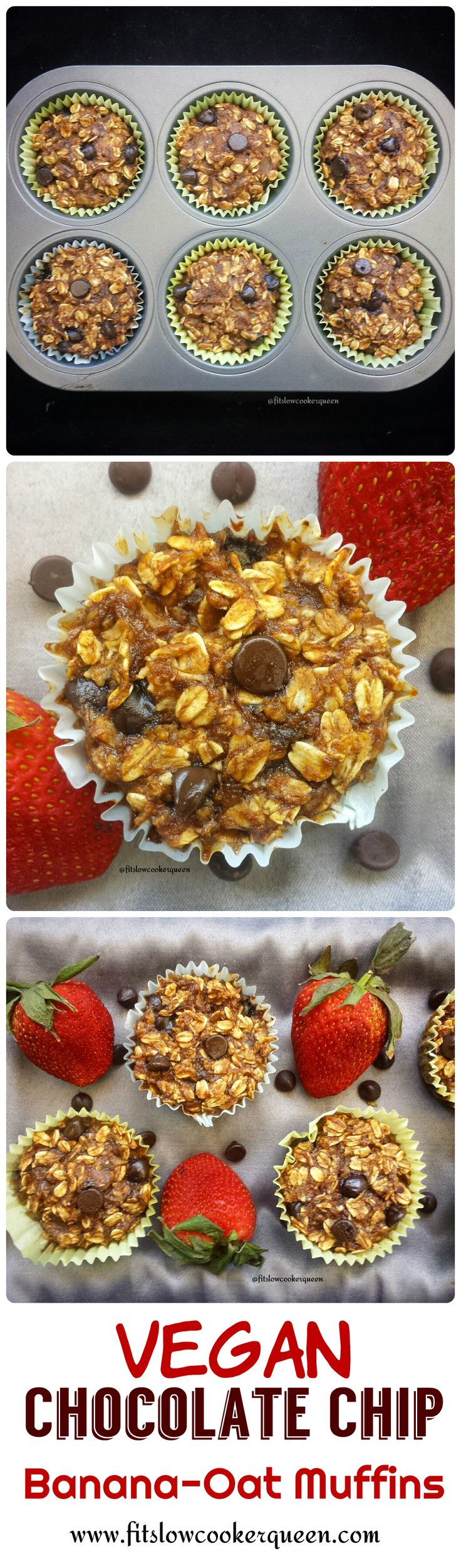These kid-friendly vegan breakfast muffins can be dressed up with fruit, nuts or chocolate chips. By adding more maple syrup this can also be a dessert.