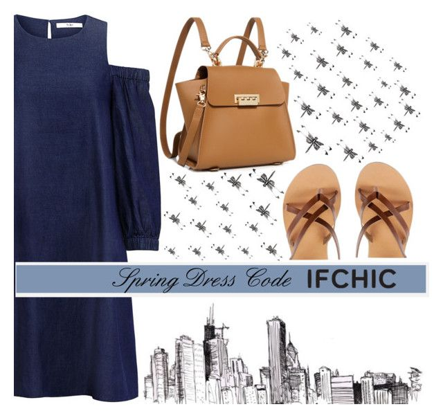 Spring Dress Code by monique-joanne on Polyvore featuring polyvore, fashion, style, TIBI, ZAC Zac Posen, Ancient Greek Sandals, clothing, dress, ifchic and springdresscode