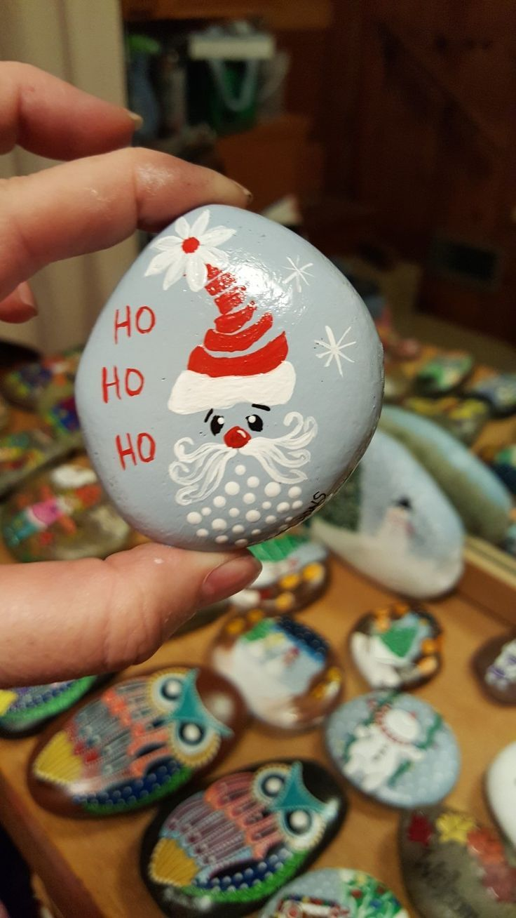 Christmas Rock Painting Designs.15 Fantastic Diy Easy Rock Painting Ideas For Inspiration
