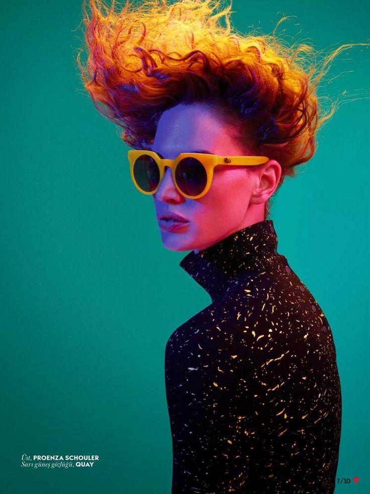 visual optimism; fashion editorials, shows, campaigns & more!: rave çağırıyor: crista cober by cuneyt akeroglu for vogue turkey september 2014