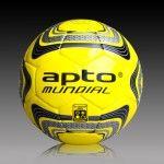 Apto Sports Mundial Matchball yellow/black football