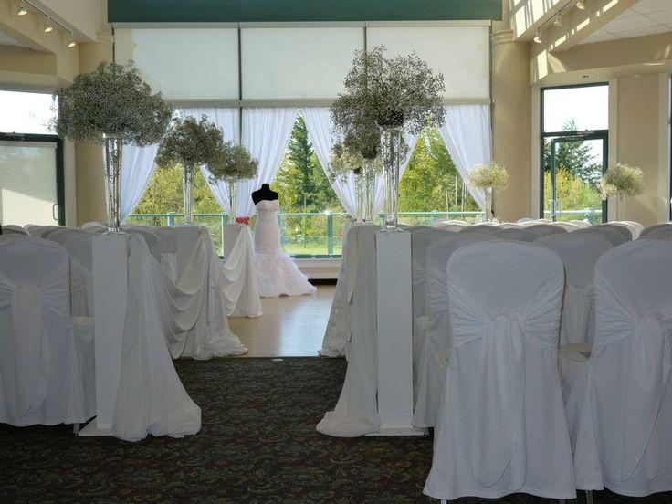 White Wedding Décor