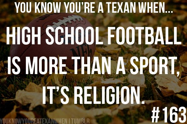 How true this is!!!!!  Unless you live in Texas, you have NO idea!
