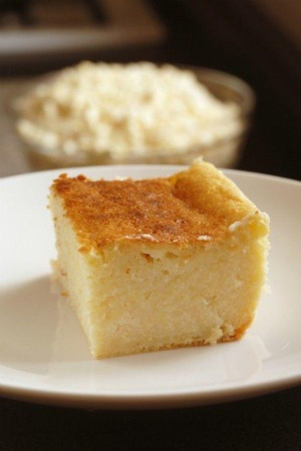 Pastel dulce de elote