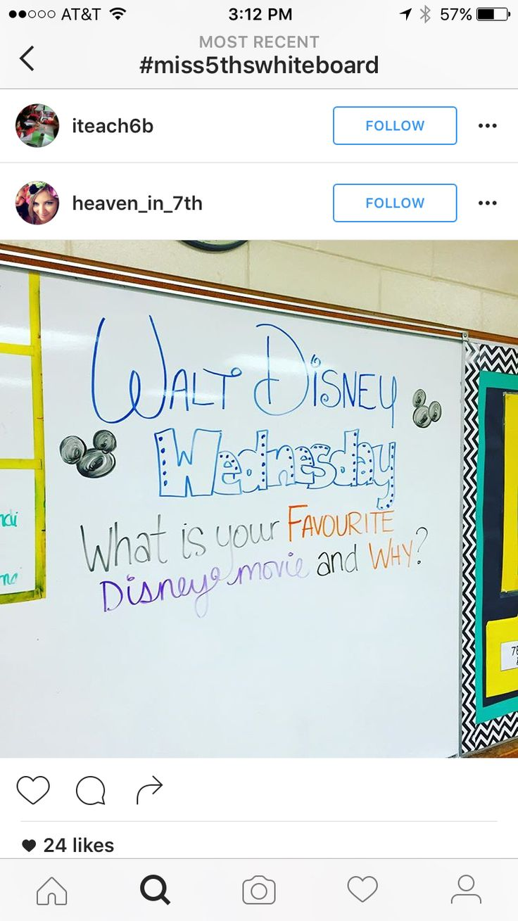 Ally Paskas 11/28 - I love these titles of each school day! I think the fun and engaging titles get students interested and participating in the activities and materials. I would use this is the morning for a welcome activity or transition activity.