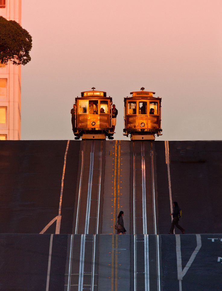 Sunset in San Francisco by Phil Mcgrew