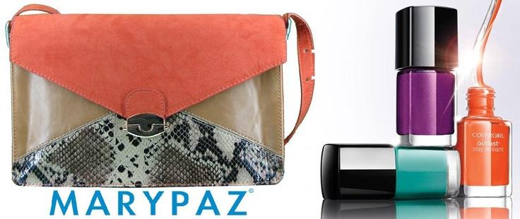 En nuestro #HoyRecomendamos apostamos por el color y este bolso de #MARYPAZ