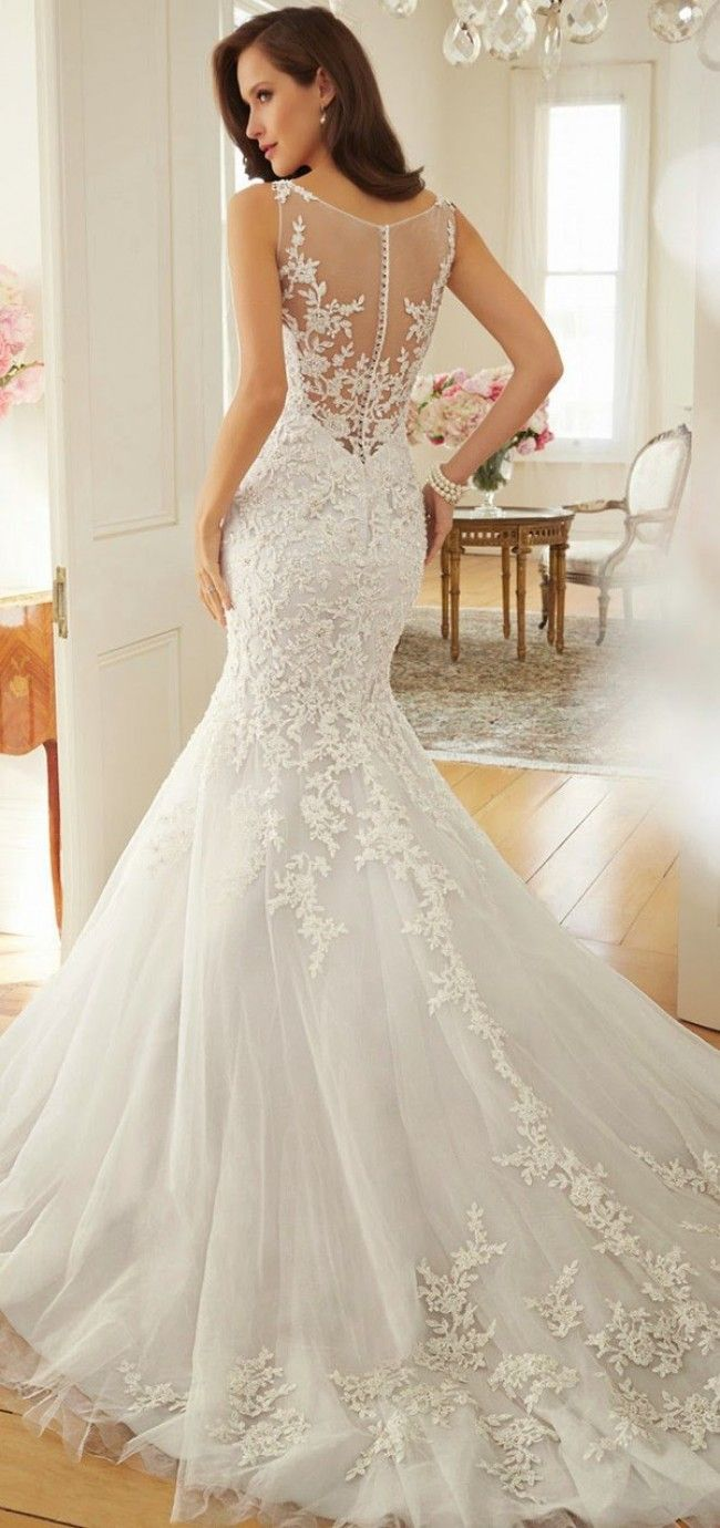 Best 25 Lace mermaid wedding dress ideas on Pinterest Bridal