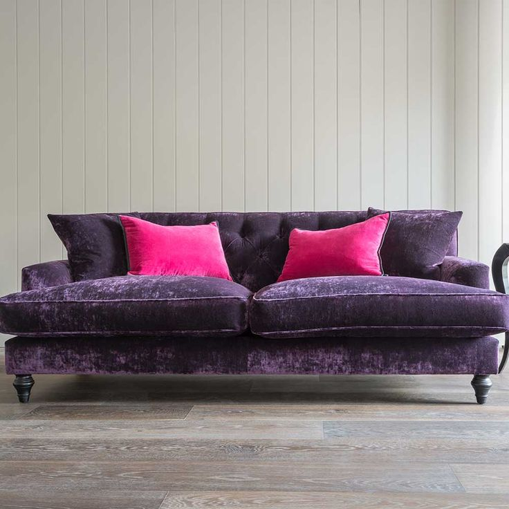 This Comfy Large Sofa From The Belgravia Range Will Transform Your Living  Space With Its Attractive Low Arms And Vibrant Soft Upholstery.