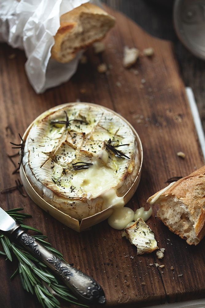 how to serve camembert and brie